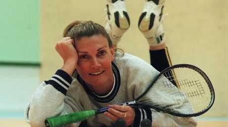 Squash superstar Michelle Martin