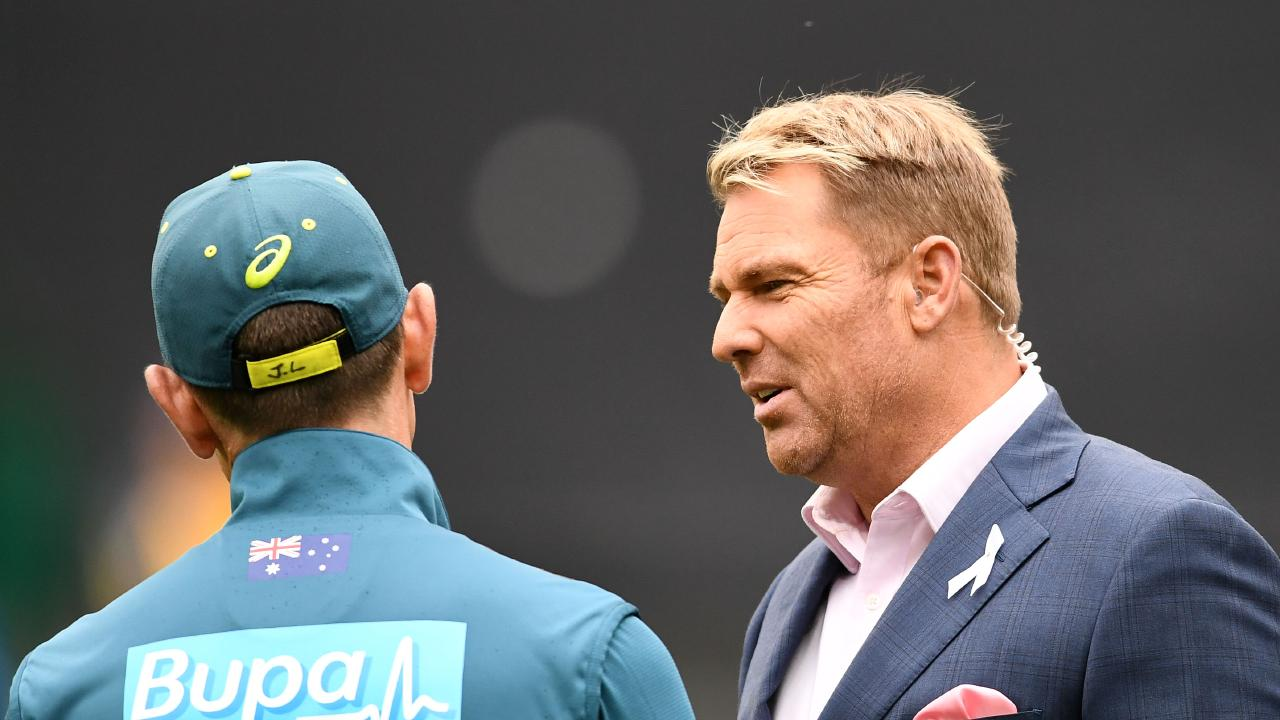 Shane Warne has labelled Cricket Victoria a 'disgrace' for its treatment of Aaron Finch's Test preparations. Picture: Getty