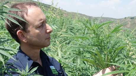 Mr Benhaim has been debating with Aussie pollies about the effects of cannabis-derived products. Picture: Supplied