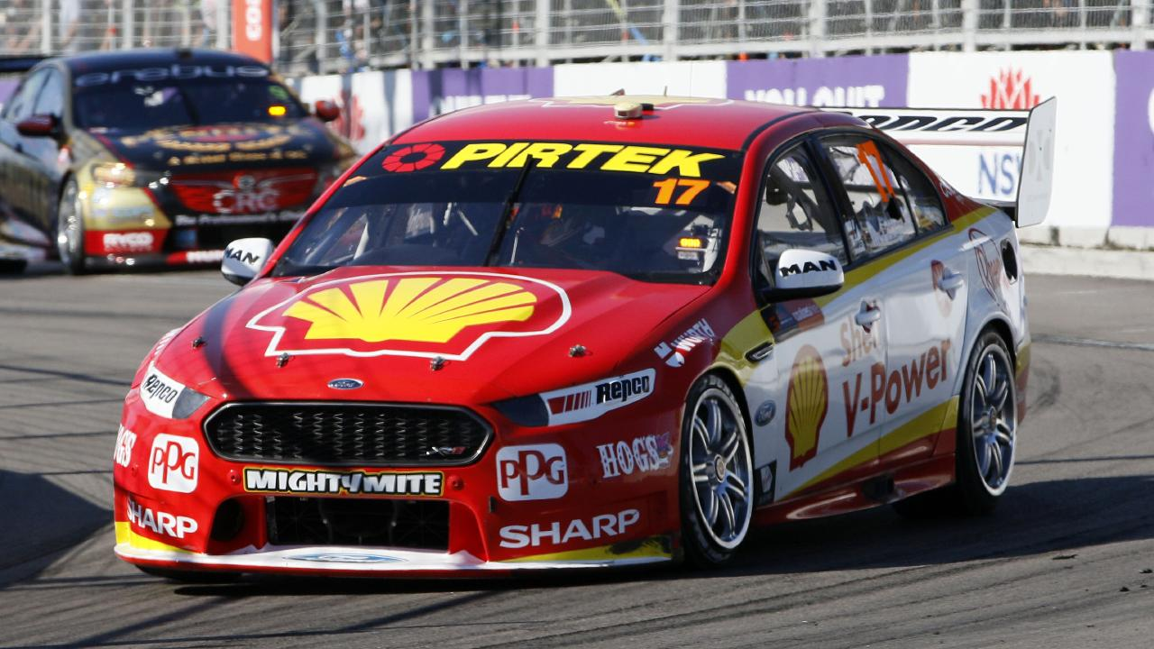 McLaughlin finished second in Newcastle but it was enough to win the V8 Supercars Championship.