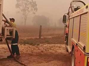 Homes lost, hundreds evacuated as blaze intensifies