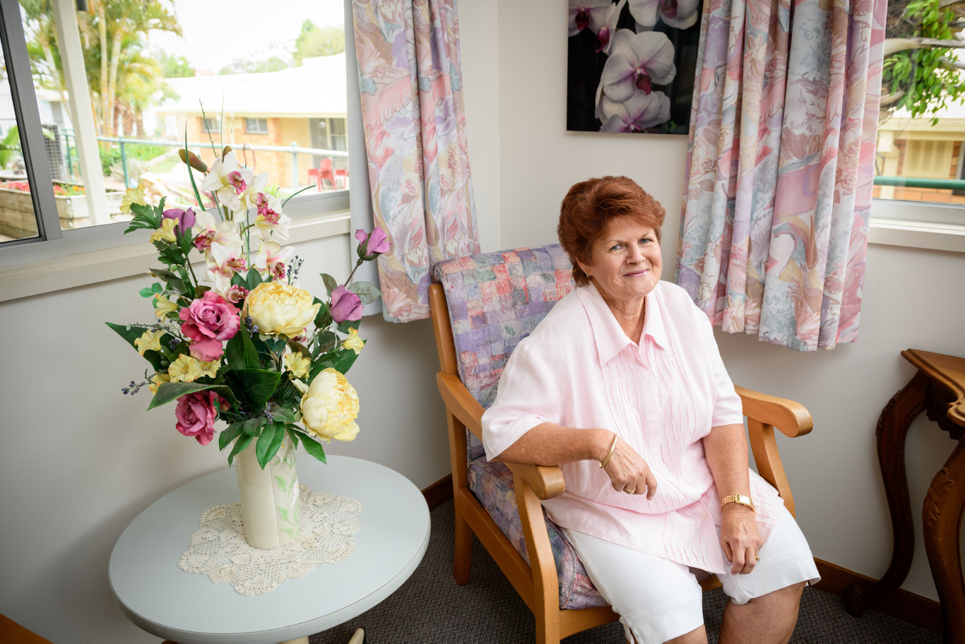 Where: Riverlea Aged Care, 1 River Terrace, BundabergWho: Staff member Rhonda Neilson