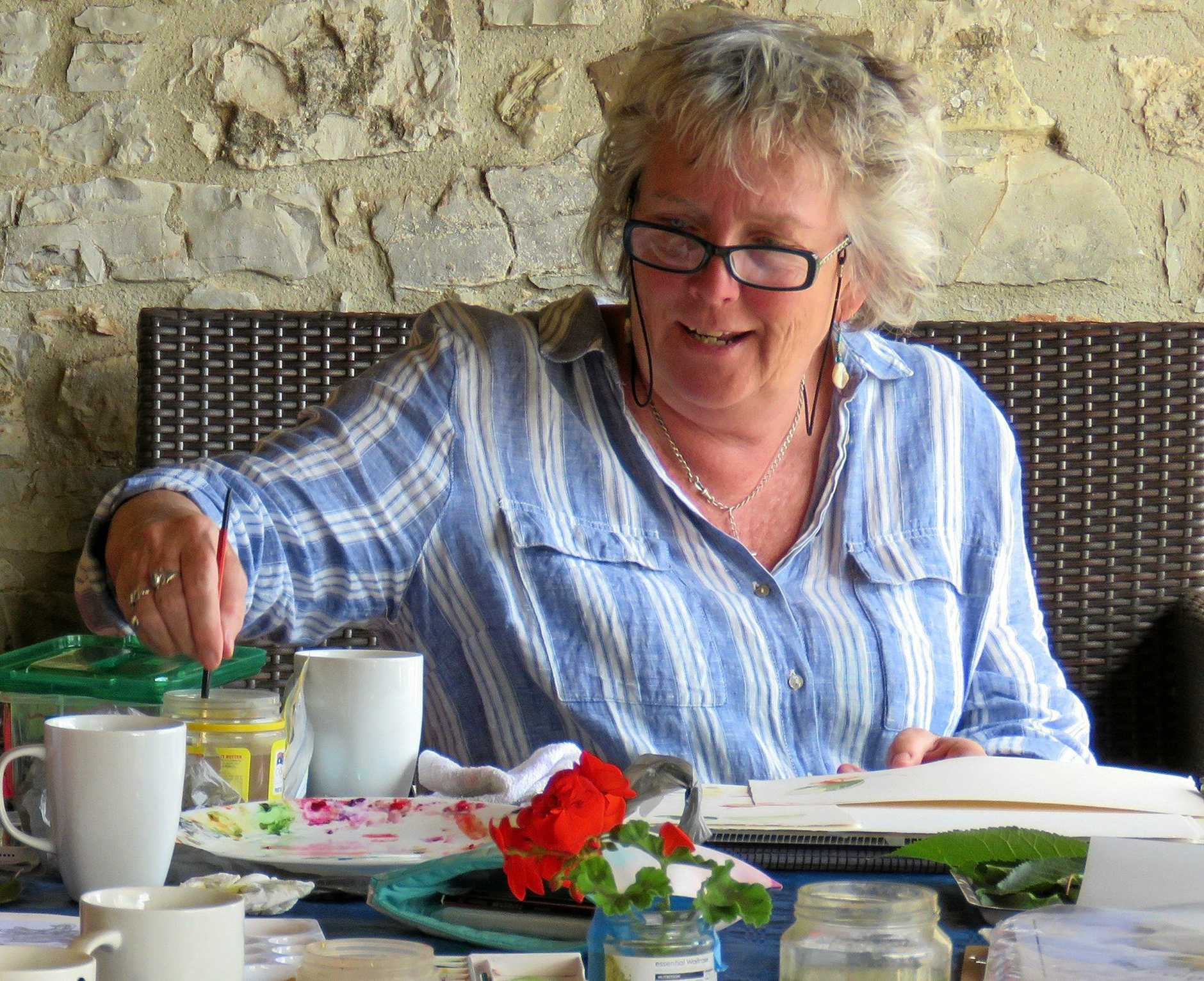 INSPIRED: Artist Belinda Biggs shares her dual loves of painting and travel through painting holidays.