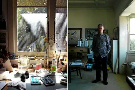 Australian artist Matthew Martin was a finalist in the Dobell Prize For Drawing at the Art Gallery of NSW in 2017.