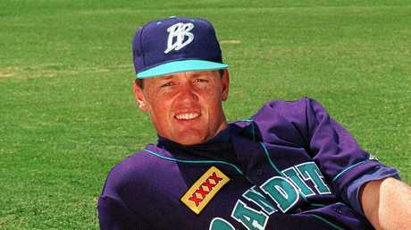 Dave Nilsson proved a hit in the Major Leagues.