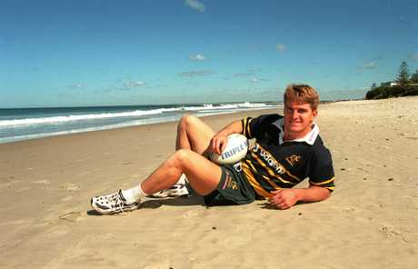 Tim Horan was a star for Queensland and Wallabies.