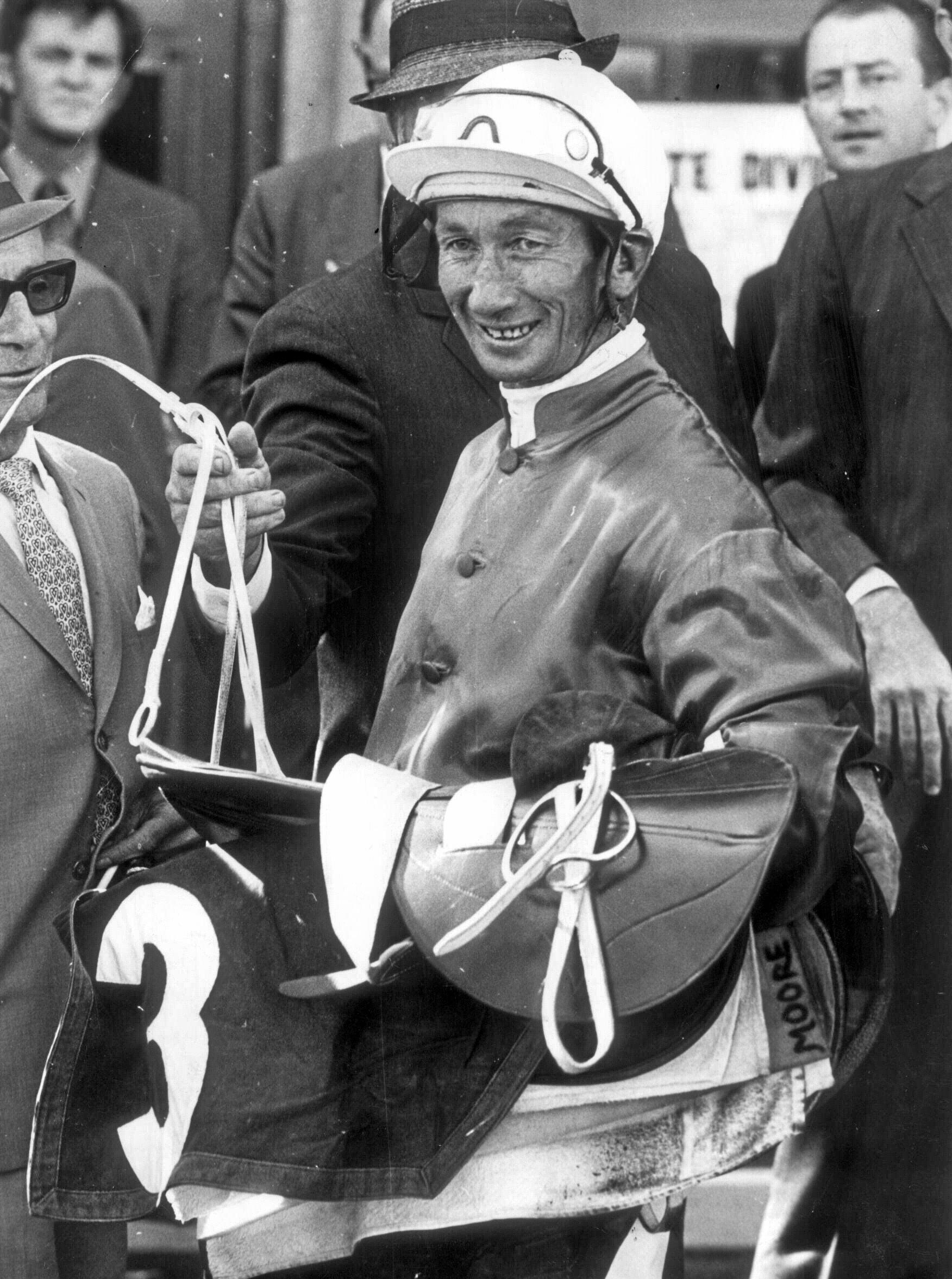 George Moore rode more than 2000 winners in Australia and overseas.