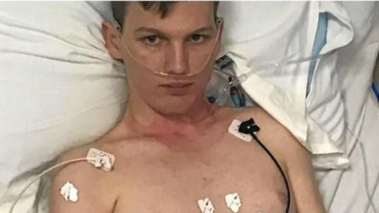 HELP NEEDED: Bradley Allan has cardiomyopathy, a disease of the heart muscle that prevents the heart from pumping blood around the body properly, which can lead to heart failure, he is in a Brisbane hospital and his family have set up a GoFundMe page asking for help.