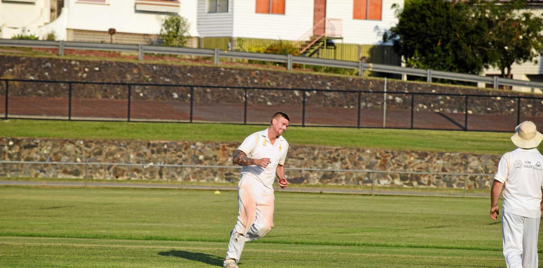 GAME CHANGER: Gympie Gold all-rounder Josh Brady's spell made the difference for his side as Gympie secured an outright win over the Yandina Pioneers.