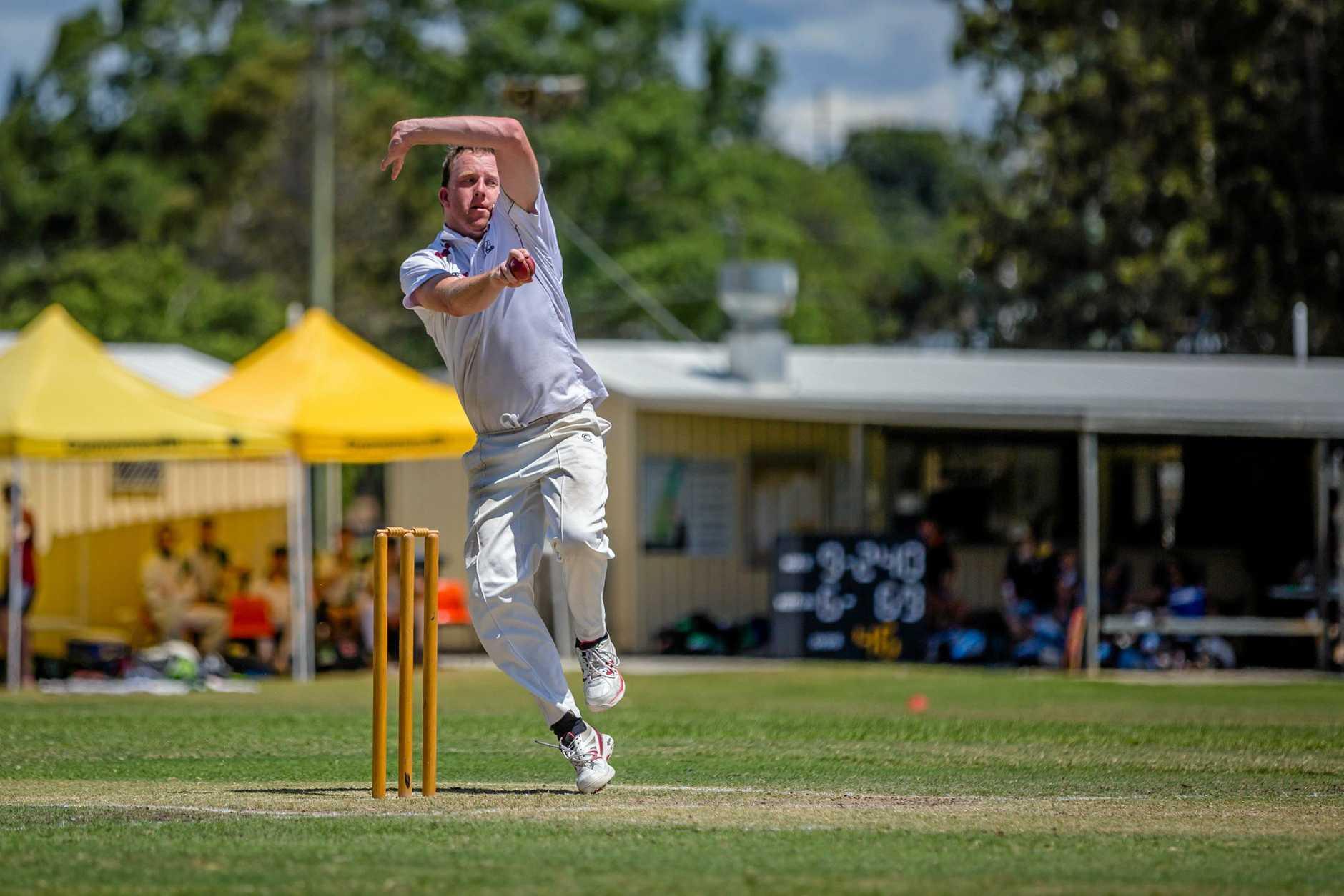 Cricket - A Grade Dean Chandler Colts vs Wests