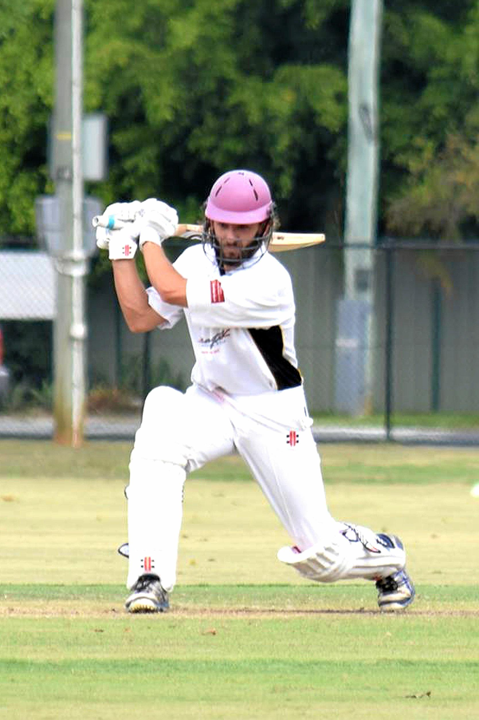 Magpies recruit Alec Townsend playing for Caloundra. Returning from two years out of the game, Townsend had a knock to remember in his Magpies debut on Sunday.