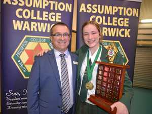 Assumption College students cap year with many awards
