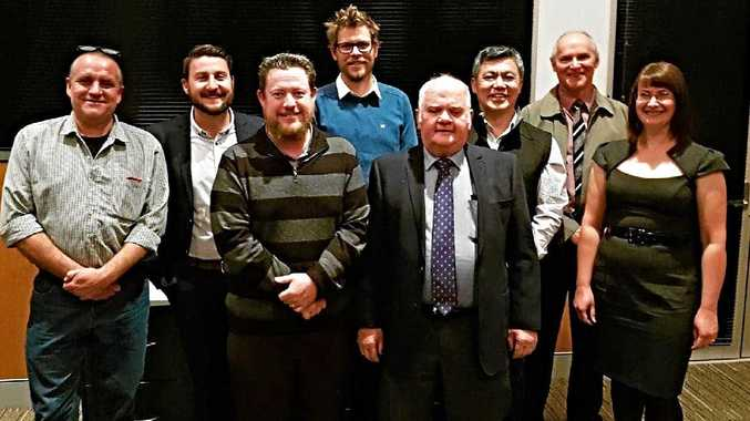 COMMITTED: The Stanthorpe and Granite Belt Chamber of Commerce (board members pictured) has submitted a tender to take over the Emu Swamp Dam approvals.