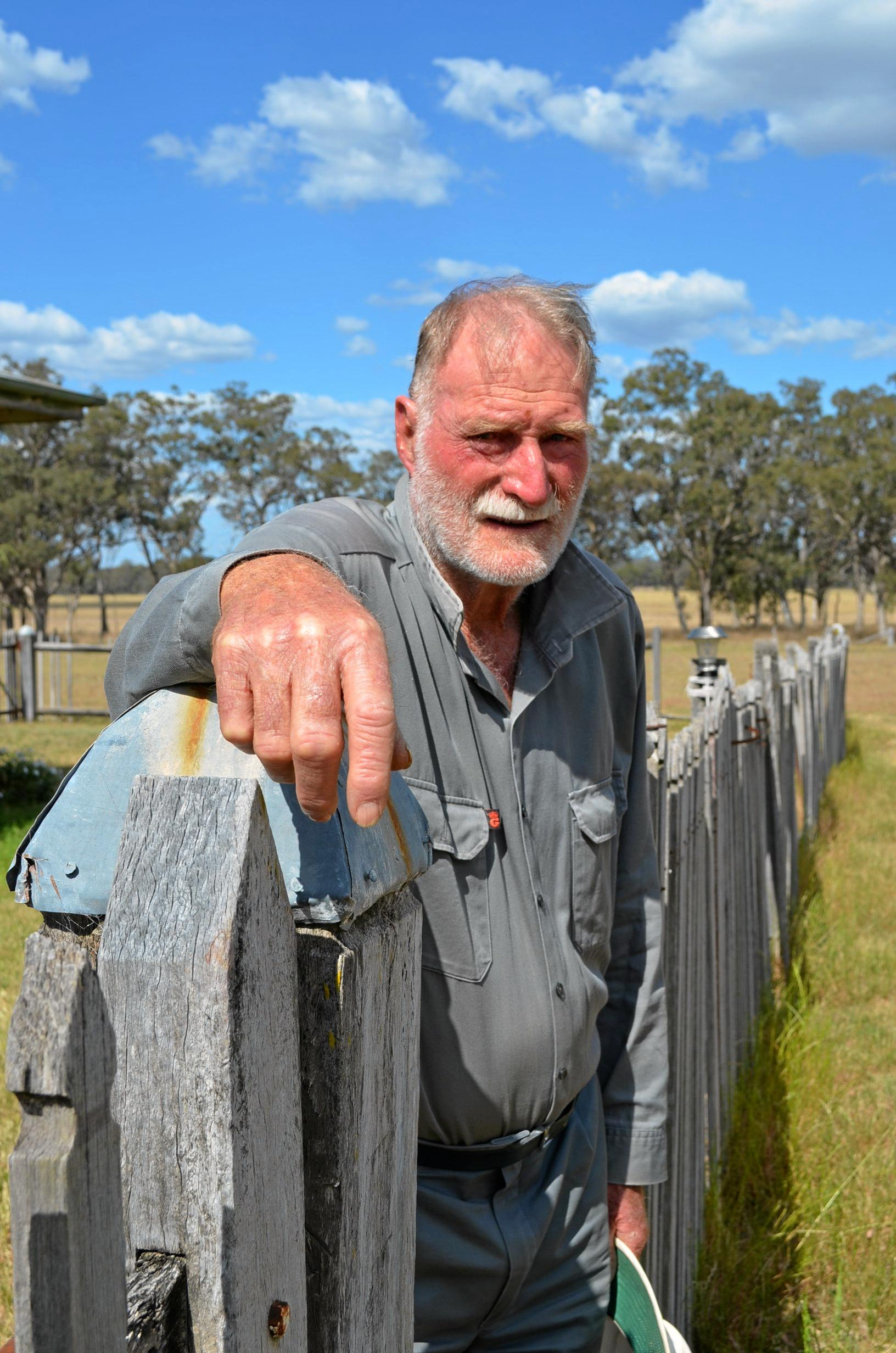 TRAGIC MOMENT: Karara landholder Alan Wickham died in an instant after he drove in front of an oncoming truck. He knew the road well but was blinded by sunlight. His wife Carmel is urging all drivers to pay attention, no matter how familiar the road is.