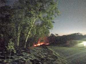 Close watch being kept on grassfire at Mount Bassett