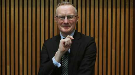 Governor of the Reserve Bank of Australia Philip Lowe said cash is mainly being used by tax avoiders, criminals and those concerned with privacy. Picture: Kym Smith
