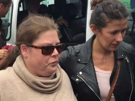 Cassie loves Linda Evans and sister Khala Sainsbury after leaving El Buen Pastor prison. Image: James Law / news.com.au
