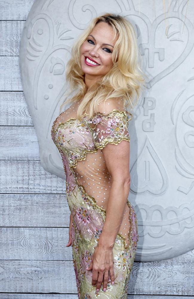 Pamela Anderson's views are apparently cancelled out by her attractiveness. Picture: Getty Images