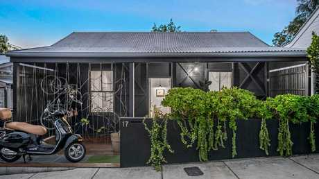 The property at 17 Hove St, Highgate Hill, after the renovation.