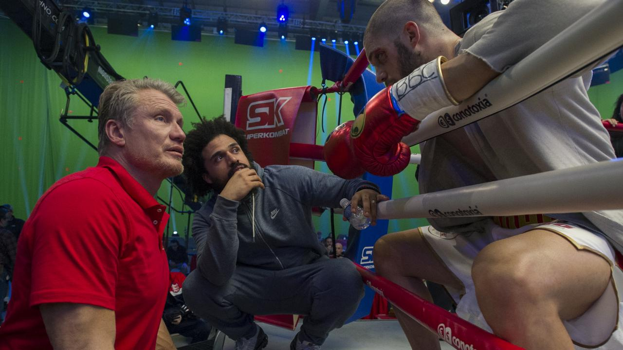 Behind the scenes on Creed 2 with Dolph Lundgren, director Steven Caple Jr, and Florian Munteanu