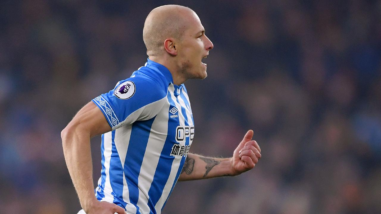 Mooy registered some ridiculous numbers in the win over Wolves. Picture: Getty