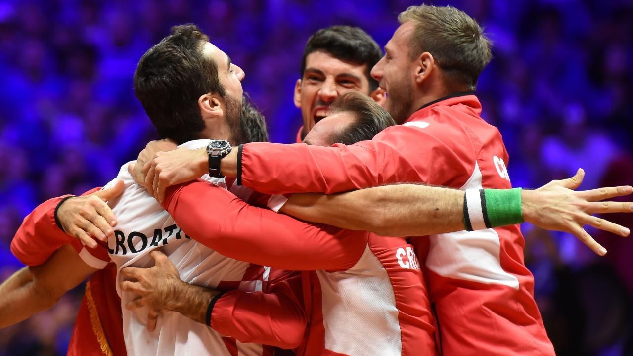 Croatia are Davis Cup champions.