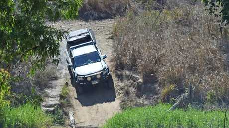 Black River locals joined the search as news of the missing young girl spread. Picture: Zak Simmonds