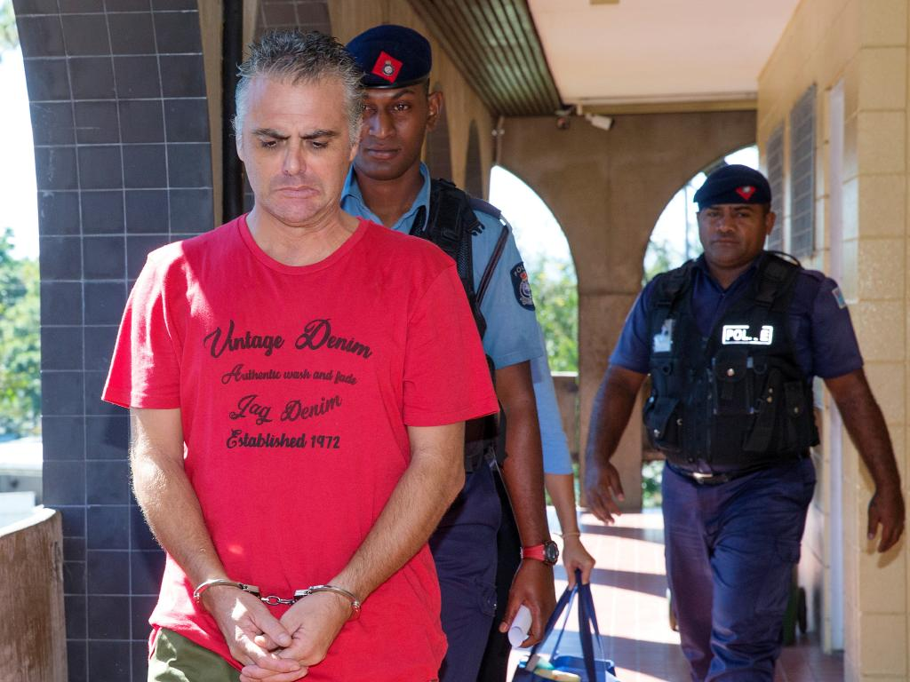 John Nikolic and his wife Yvette will stand trial in Fiji next year.  Picture: Mark Stewart