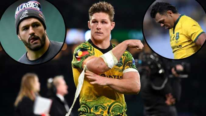 The Wallabies were thrown into disarray after players took women to their hotel rooms.