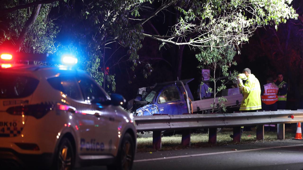 City-bound motorists on Sydney's M5 motorway were warned of heavy delays.  Picture Dean Asher/ TNV