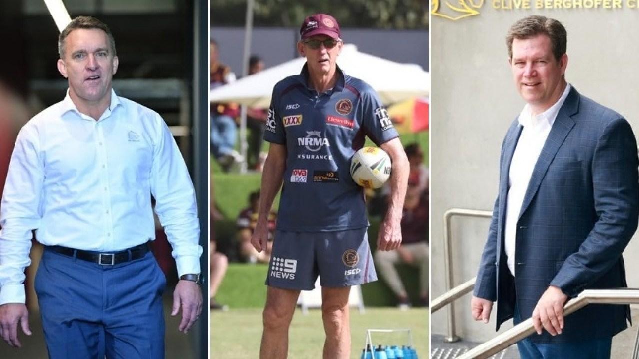 Wayne Bennett says Brisbane's brass need to be held accountable for the coaching saga.