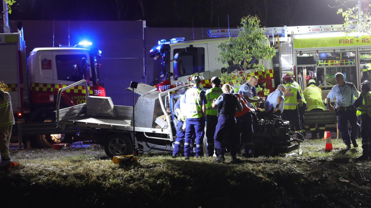 M5 traffic chaos after fatal ute crash | Chronicle