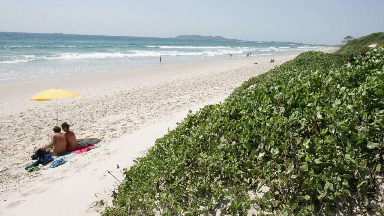 Tyagarah Beach. Pic: Adam Head.