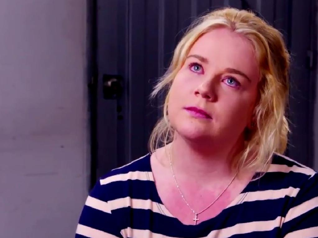 An emotional Cassie defended herself in an explosive 60 Minutes interview last year. Picture: Channel 9.