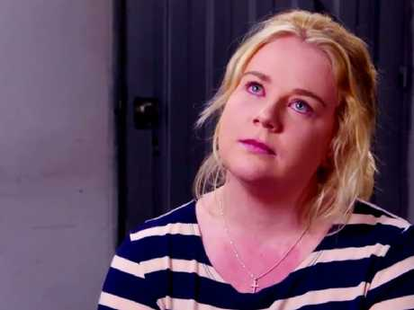 Emotional Cassie was challenged in 60 minute interviews last year. Image: Channel 9.
