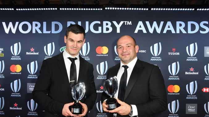 Sexton, Ireland take top gongs at World Rugby Awards