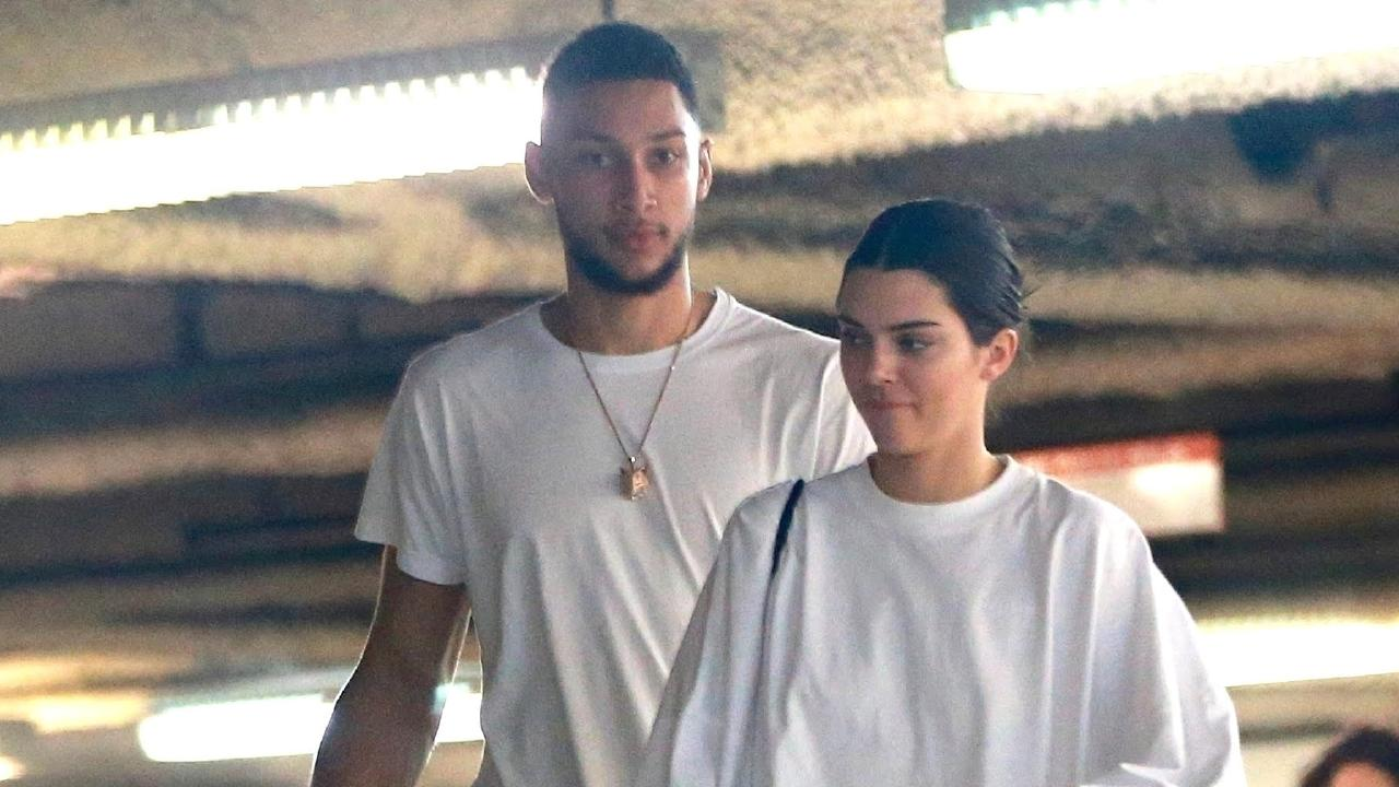 Ben Simmons and Kendall Jenner.