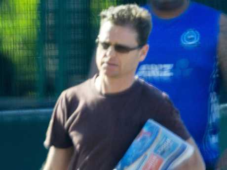 Danny Nikolic, the brother of John Nickolic, has supported his brother in court.  Picture: Mark Stewart