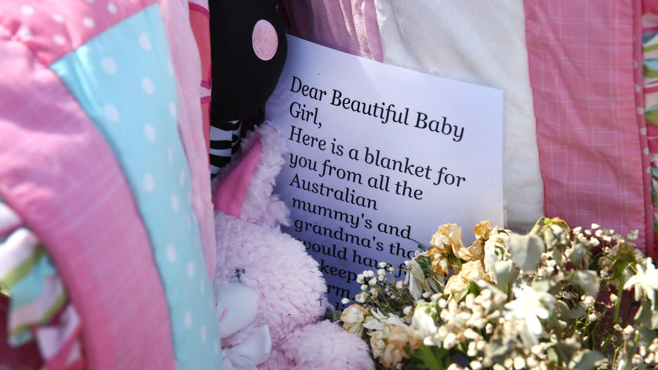Dozens of locals turned out for vigil for the baby girl last week. Picture: Adam Head