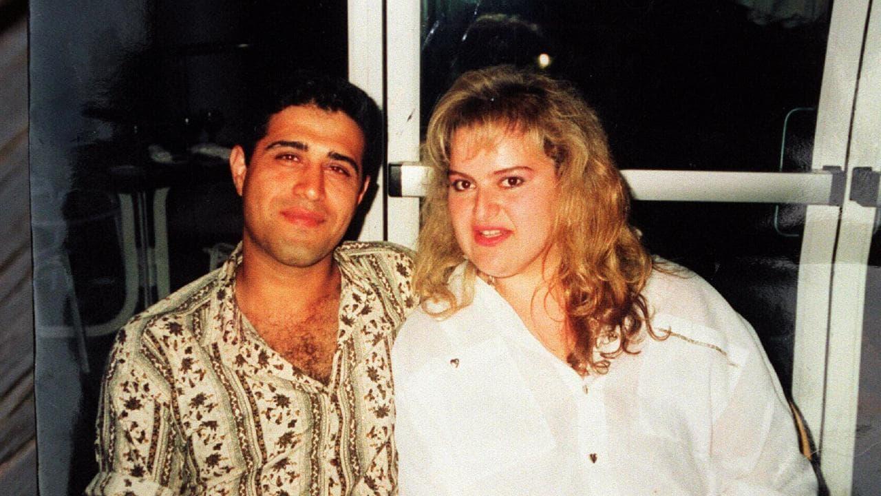 Tony Kellisar with wife Svetlana Podgoyetsky, who he murdered in 1997.