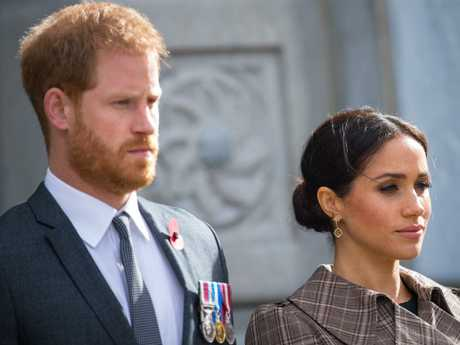 The Duke and Duchess of Sussex will set up residence at Frogmore Cottage on the Windsor Estate early next year. Picture: Getty
