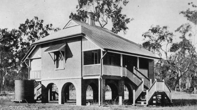 The heritage listed site of the old Kleinton State School will be getting an eco friendly facelift this week. Original building pictured here in 1910.