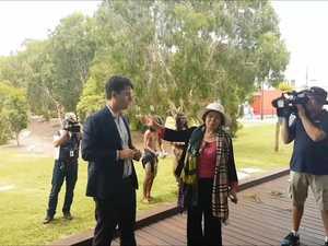 Leshan delegates visit the Fraser Coast