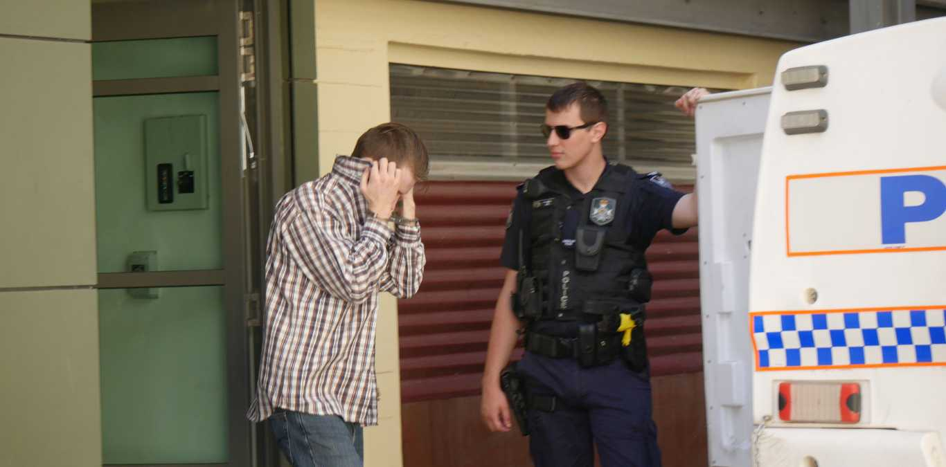Cameron Anthony Wingard, 24, was sentenced to seven years in jail for rape. He was found guilty in Maryborough District Court by a jury.