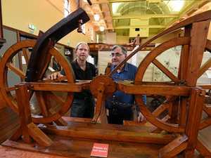 Da Vinci's lost inventions exhibited at City Hall