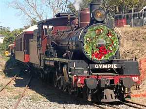 Mary Valley Rattler Christmas train is full steam ahead