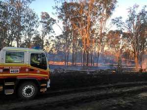 Crews contain Kingaroy grass fire