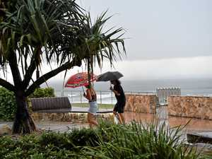 Muggy morning turns into wet day as rain, storms forecast