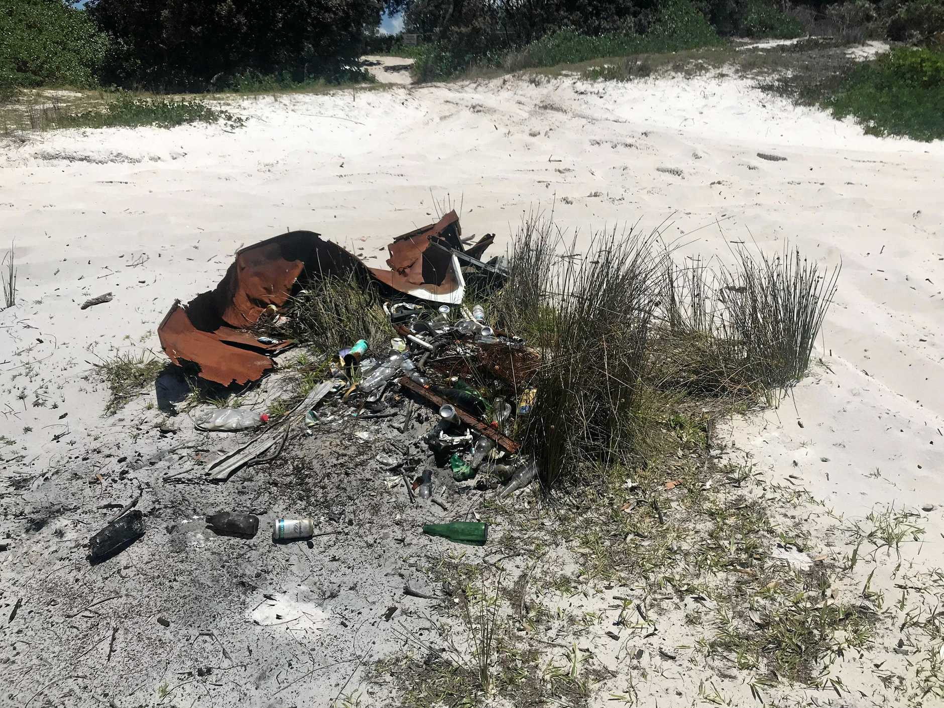 Ballina MP Tamara Smith has condemned the actions of irresponsible 4WDers who have been tearing up beaches at South Ballina.