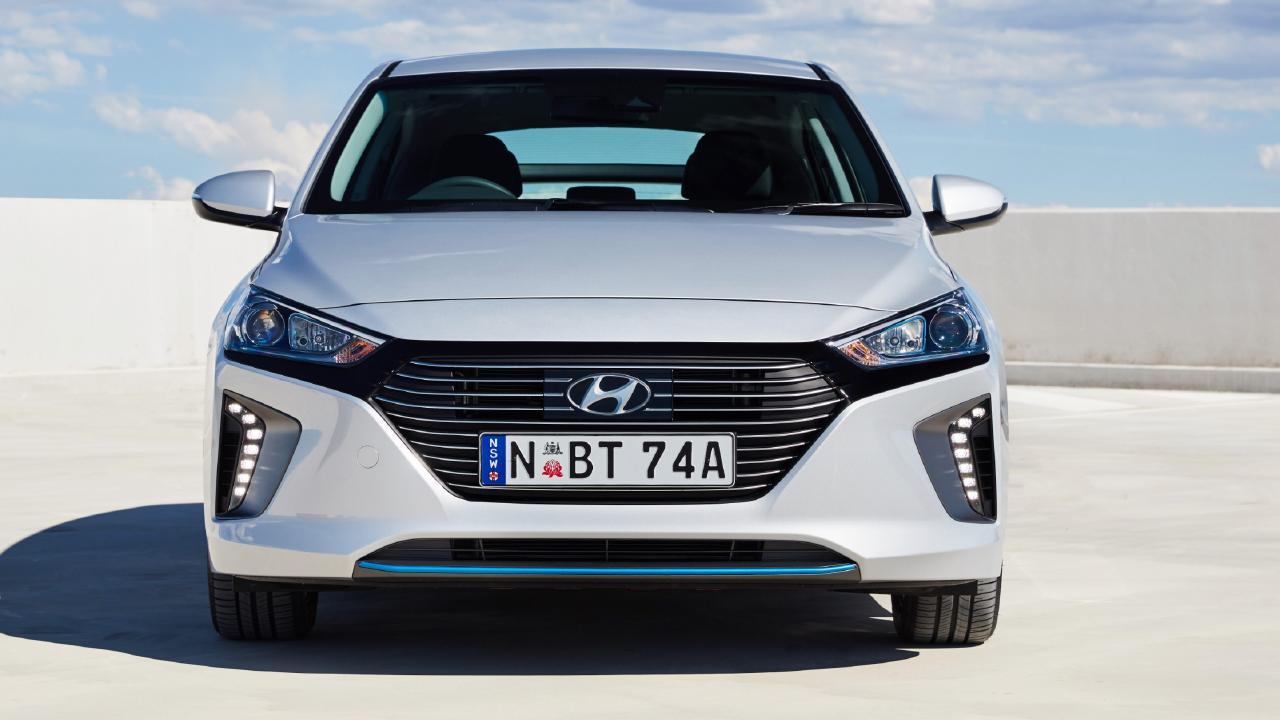 Hyundai Ioniq.